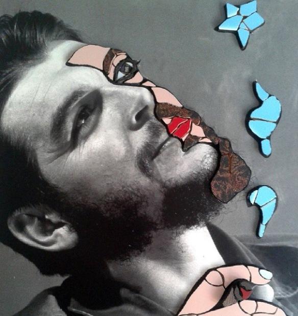 Ernesto CHE Guevara, di Orodè Deoro, mosaico