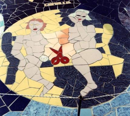 Gemini. Mosaico di Orodè Deoro