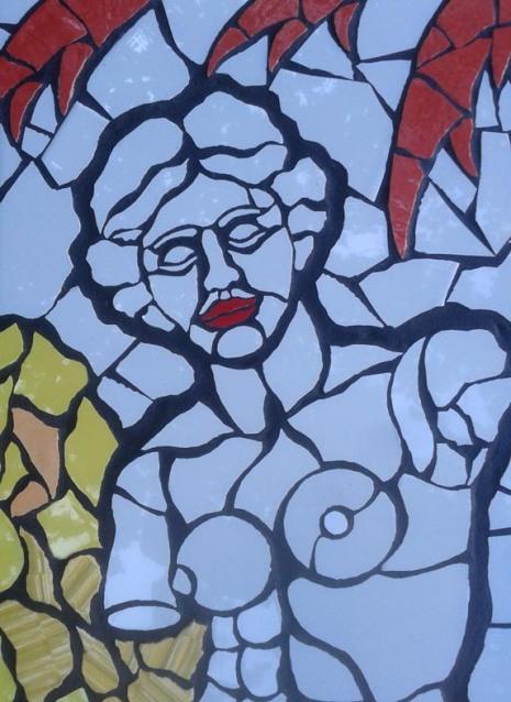 Venere di Milo. Mosaico di orodè Deoro