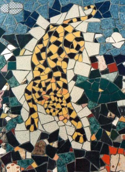 Tigre, Mosaico di Orodè Deoro